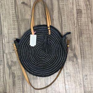 Handbag republic straw circle bag